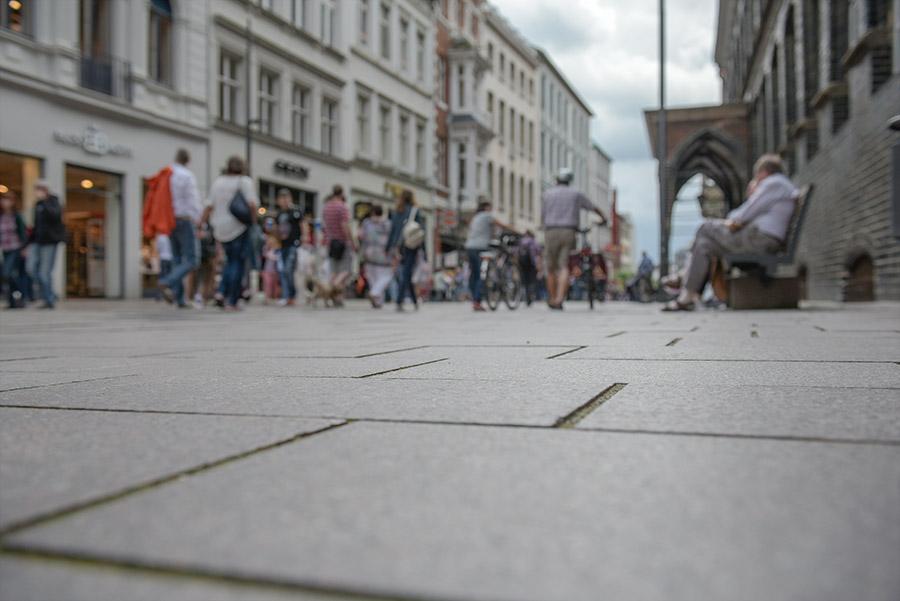 Einkaufen in der Lübecker Innenstadt