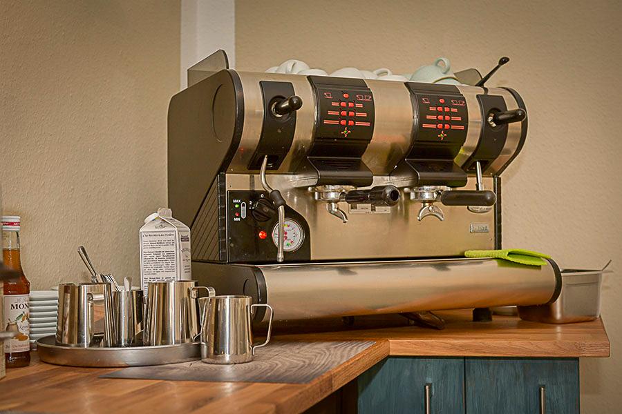 Kaffeeautomat für frischen Kaffee