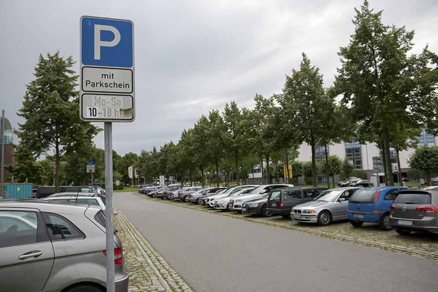 Kostenlose Parkmöglichkeiten in Lübeck