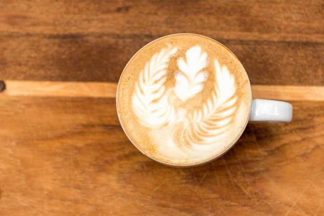 Barista Kaffeekunst