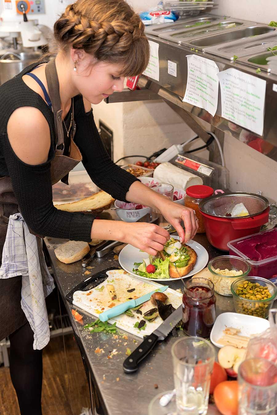 Service in einer Gastronomie in Lübeck