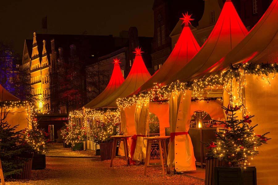 Geschichte des Lübecker Weihnachtsmarktes