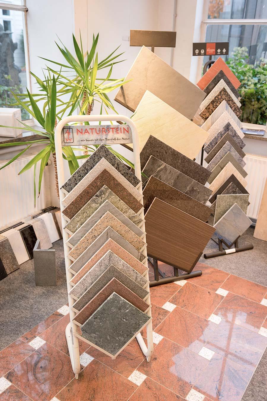 Marmor Musterplatten