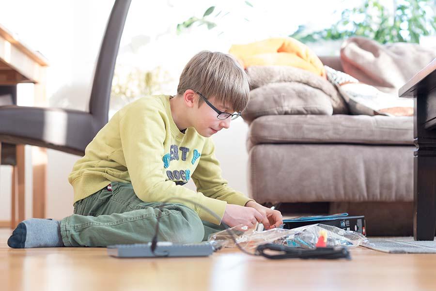 Spieletipps für Kinder in der Wohnung