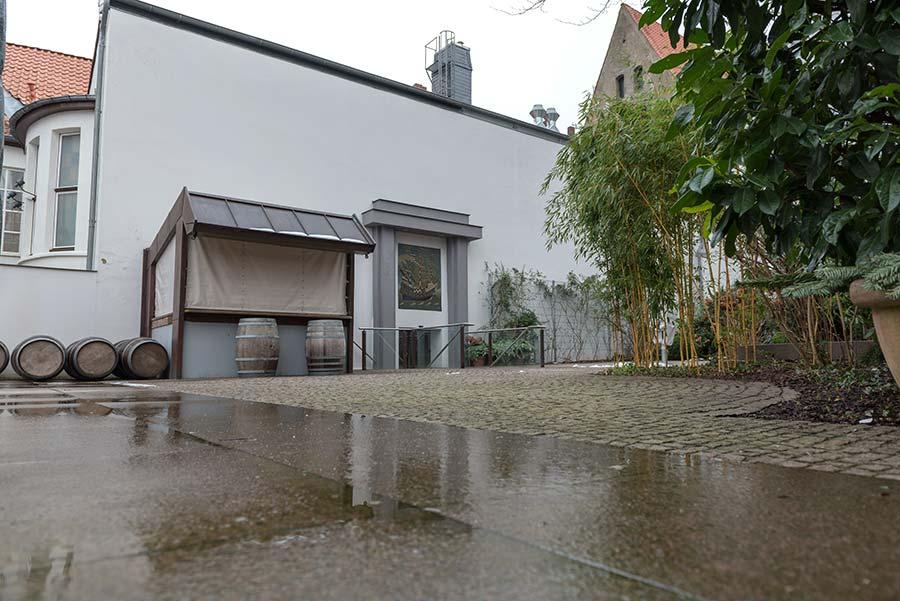 Garten - Außenbereich der Schiffergesellschaft