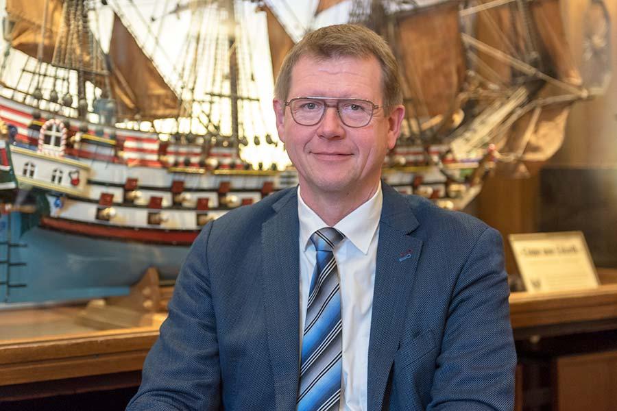 Geschäftsführer Schiffergesellschaft Frank Höhne