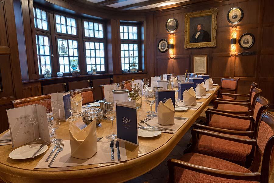 Kapitäns-Zimmer in der Schiffergesellschaft