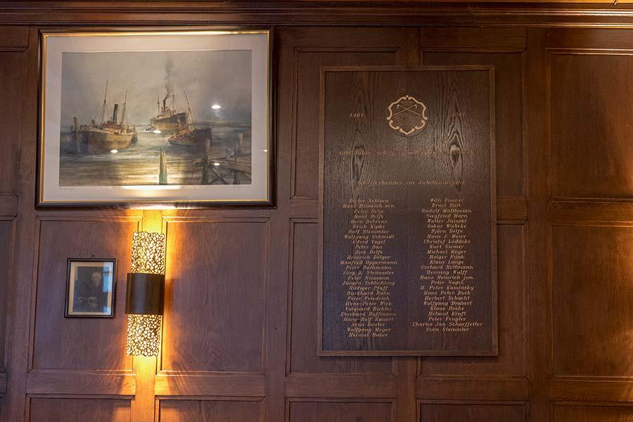 Mitglieder der Schiffergesellschaft