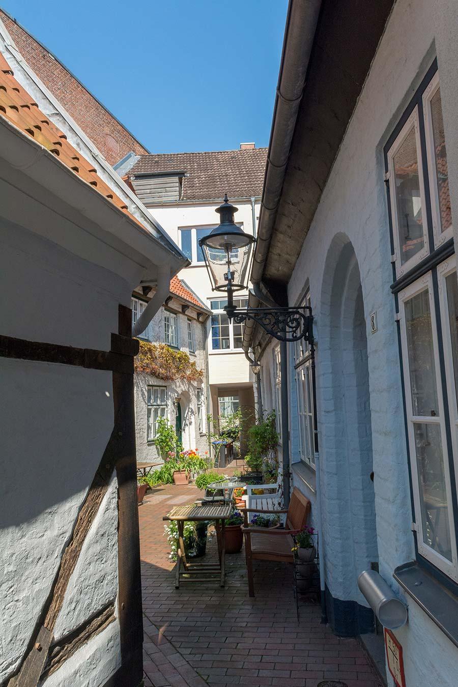 Wie wohnten die Schifferbrüder in Lübeck