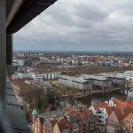 Blick auf das Radisson Hotel Lübeck