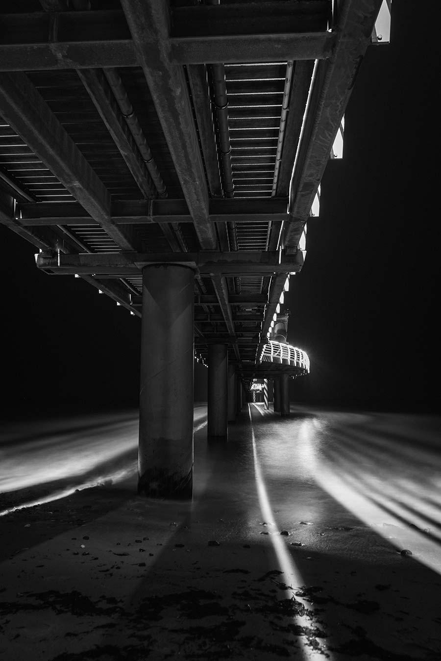 Unter der Seebrücke Niendorf