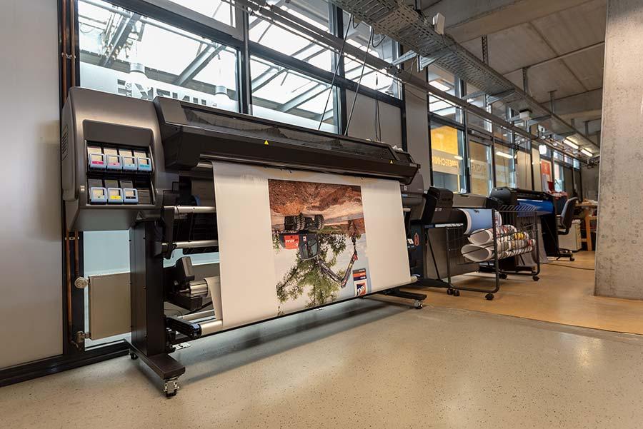 Hohe Bildqualität bei Digitaldruckern