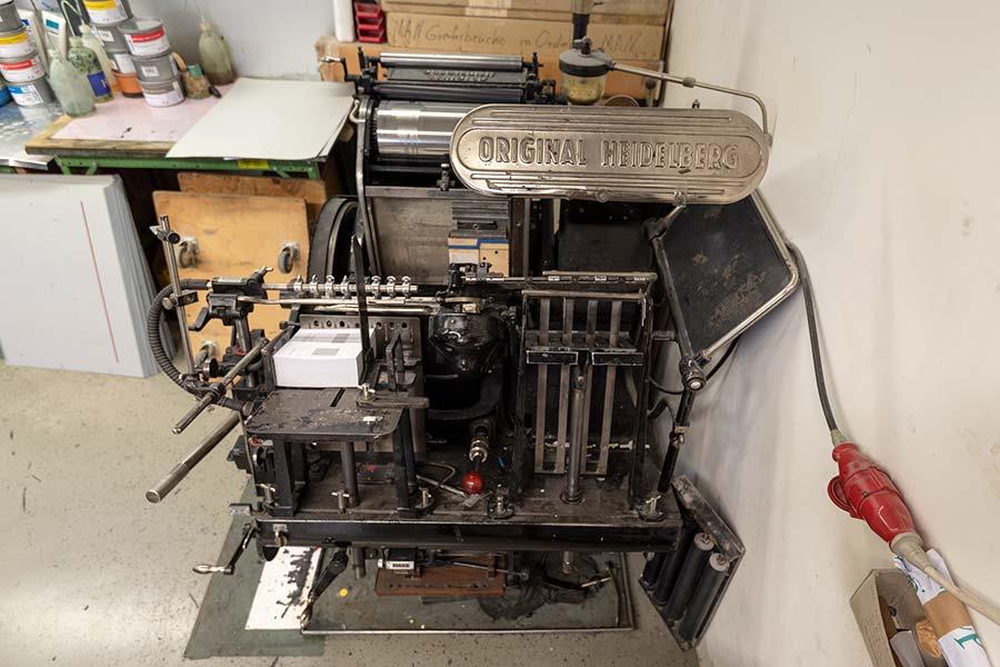 Digitaldruck mit langer Geschichte