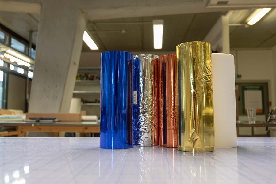 Folien für die Druckveredelung