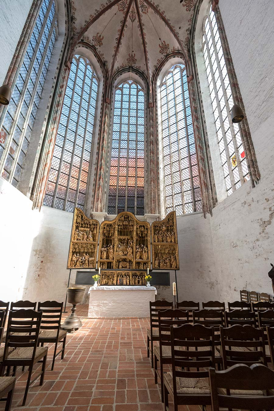 Die goldene Marientidenkapelle