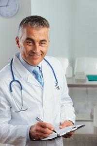 Trainingsempfehlung vom Arzt
