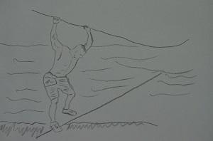 Wacklige Indiana Jones Brücke ‒ Ball Shrinker®