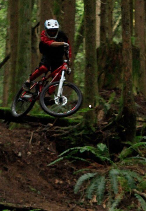 Bryan auf dem Bike