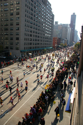 New York Marathonvorbereitung