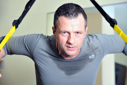Muskelaufbau durch Fitnesstraining