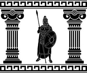 Spartaner großartige Kämpfer