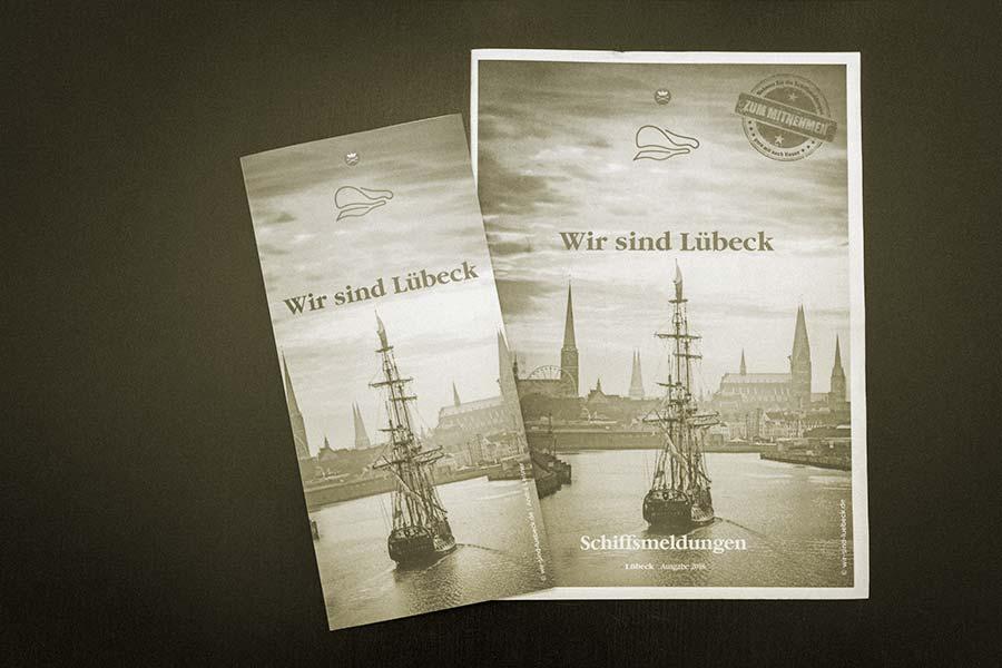Speisekarte Schiffergesellschaft - Wir sind Lübeck