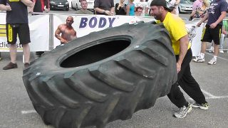 Strongman Wheel Flip