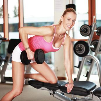 Trizeps Übung Frauen