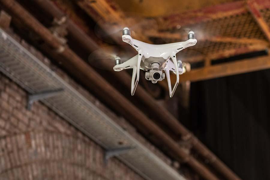 Drohnenfotografie-Genehmigung