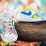 Bemalte Schuhe von Jose Pereira