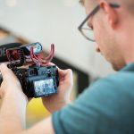 Kameramann beim Kunstkilometer