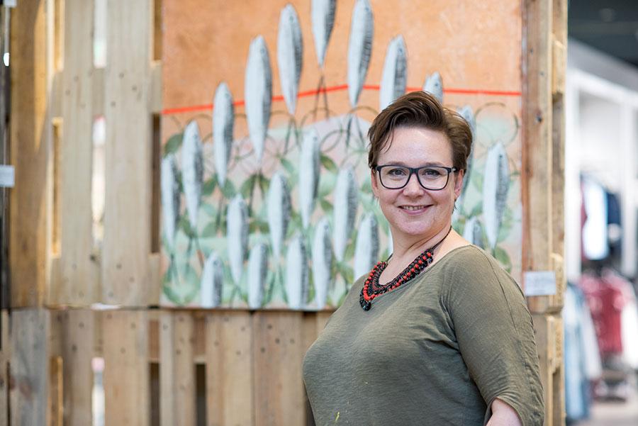 Künstlerin Ninette Matthiessen