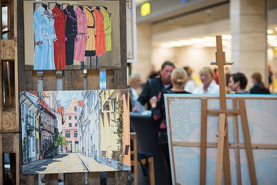 Kunstausstellung im CITTI-PARK Lübeck