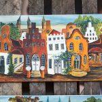 Lübeck Malereien von Sabine Tiedemann