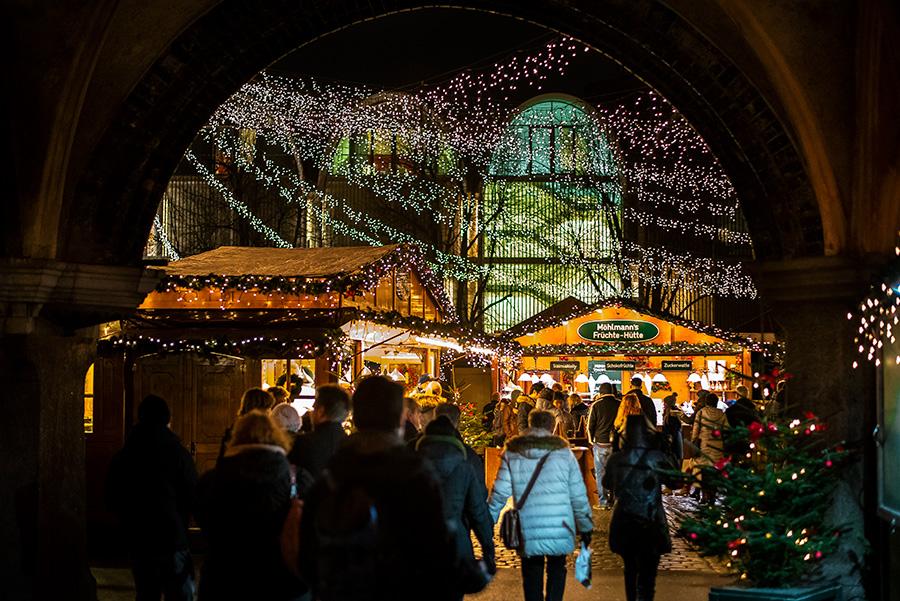 Weihnachtsmarkt auf dem Lübecker Markt