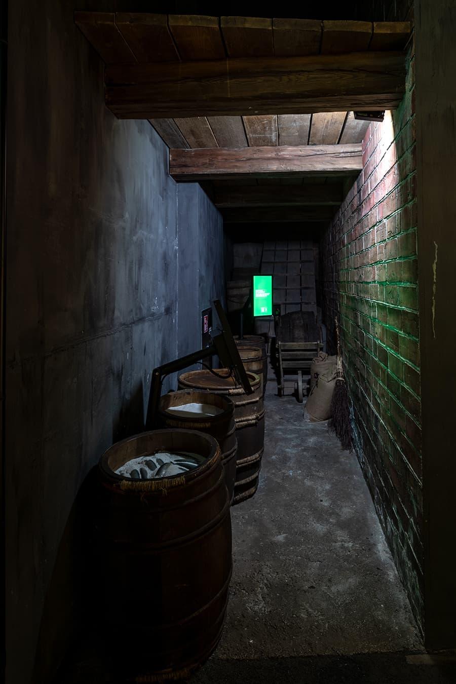 Typischer Keller zu Zeiten der Hanse