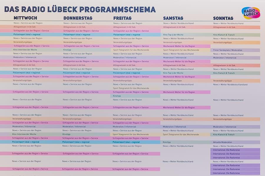 Radioprogramm von Radio Lübeck