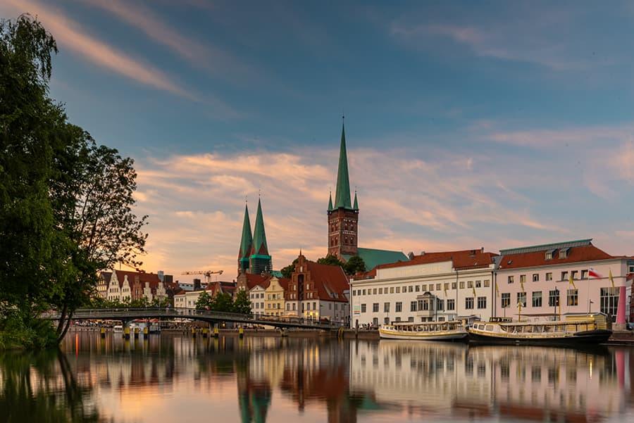 Sommerabend in Lübeck