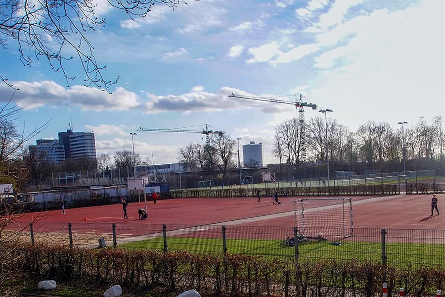 Sportplatz am Buniamshof