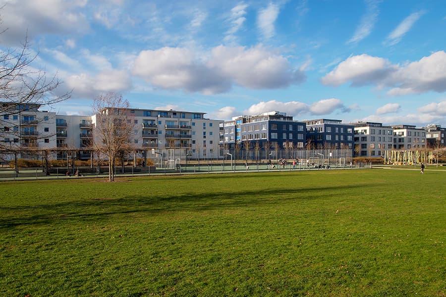 Sportplatz im Carlebach-Park