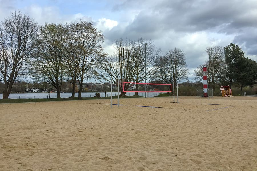 Volleyballfeld an der Falkenwiese