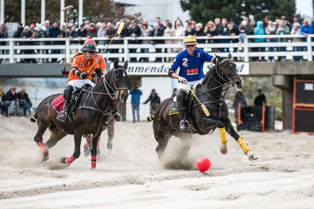 Beach-Polo in Timmendorf