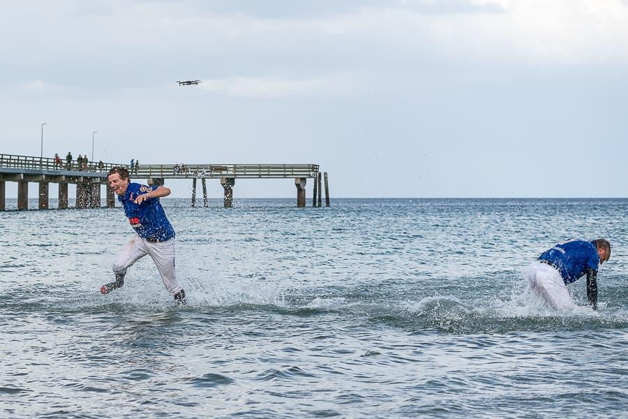 Die Sieger müssen in die Ostsee