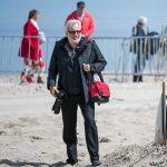 Fotograf Rolf Simon beim Beach Polo
