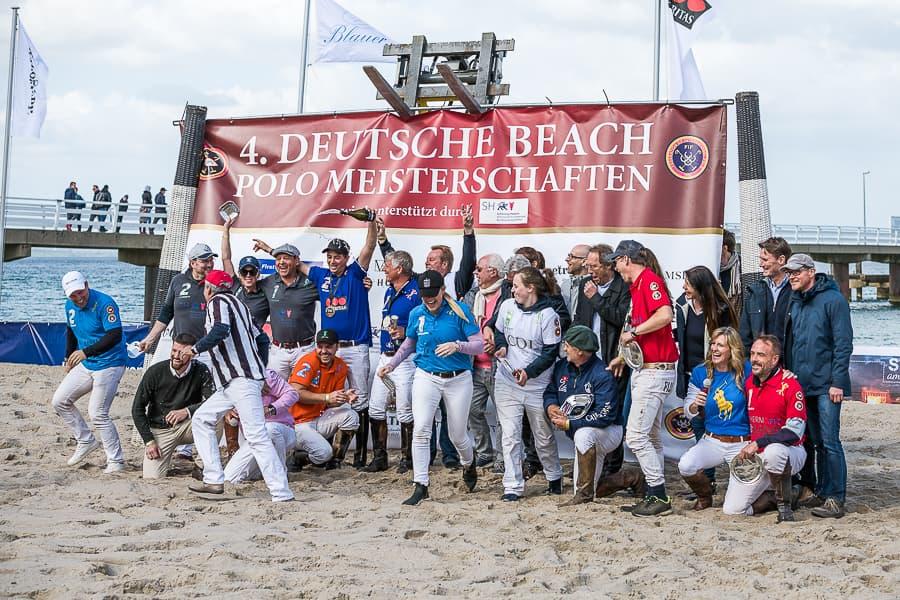 Polo-Beach Meisterschaftsspiele - Siegerehrung