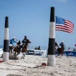 Tor beim Beach-Polo