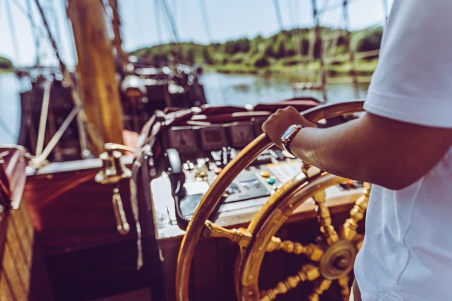 Reguläres Kapitänspatent zum steuern der LISA