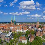 Blick auf die Lübecker Altstadt