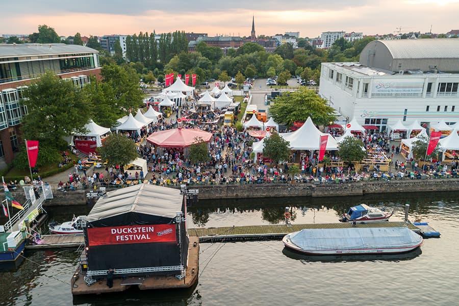 Das Duckstein Festival findet jährlich statt