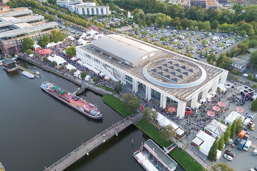 Lage des Duckstein-Festivals in Lübeck